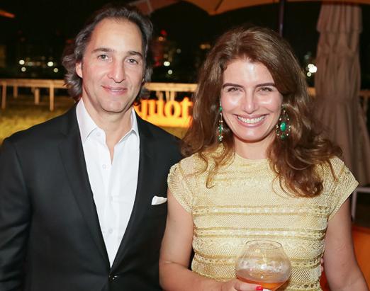 José Eduardo e Renata Kalil