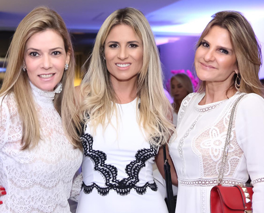 Karina Nigri, Ana Paula Barbosa e Adriana Indelli