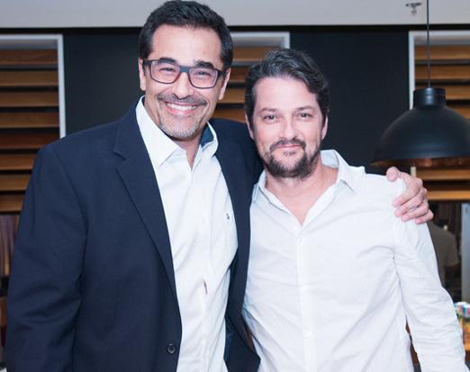 Luciano Szafir e Marcelo Serrado