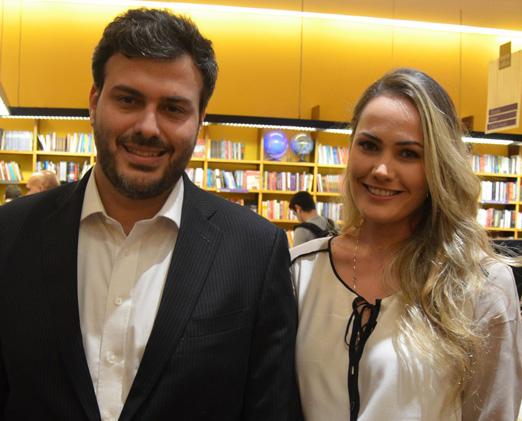 Luiz Simões Lopes e Julia Scheer