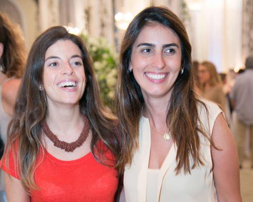 Luiza Sardinha e Daniela Cardão