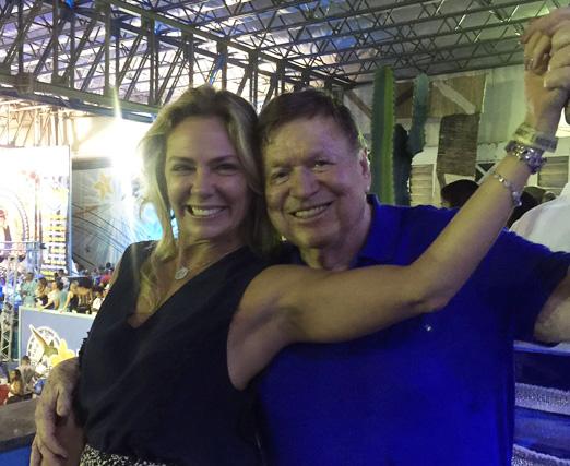 Márcia Veríssimo e Boni
