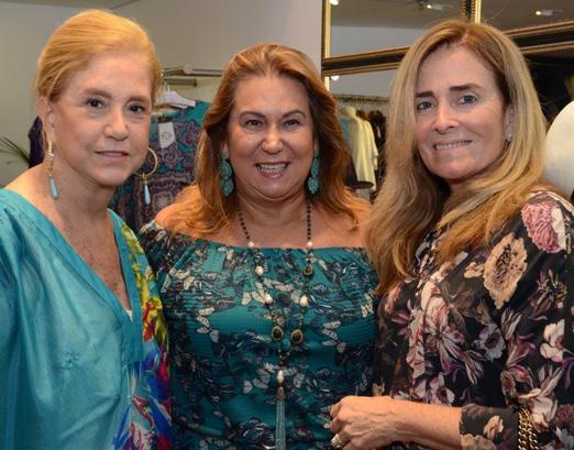 Madeleine Saade, Theresa Macedo e Leila Albuquerque