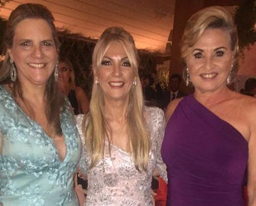 Maninha Barbosa, Teresinha Matta e Paula Almeida