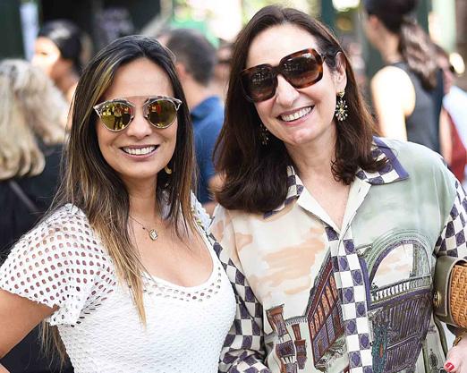 Marcia Romão e Anna Clara Tenenbaum