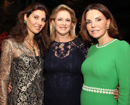 Maria Pia Montenegro, Glória Severiano Ribeiro e Patricia Mayer