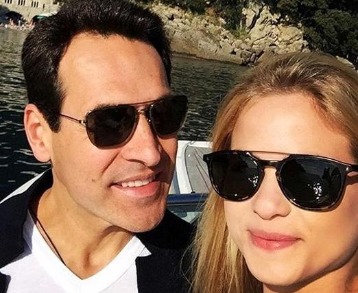 Mariano Marcondes Ferraz e a mulher Luiza