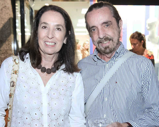 Marina Sauer e Marcello Borges