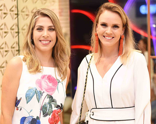 Monique Leite e Lorena Campello