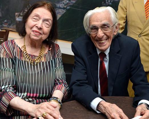 Nélida Piñon e Ferreira Gullar