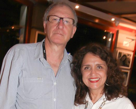 Nelson Krumholz e Ilda Santiago, diretores do Grupo Estação