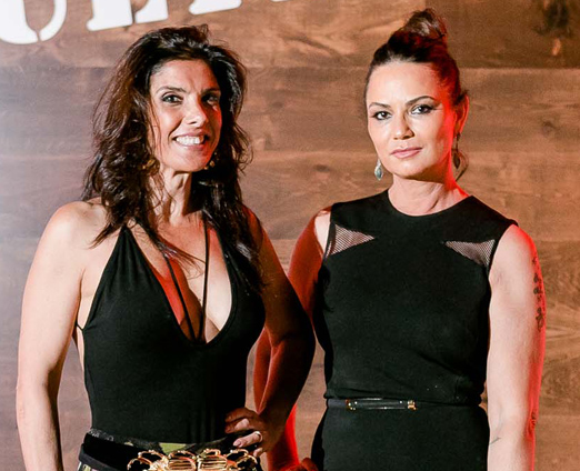 Patricia Brandão e Luiza Brunet