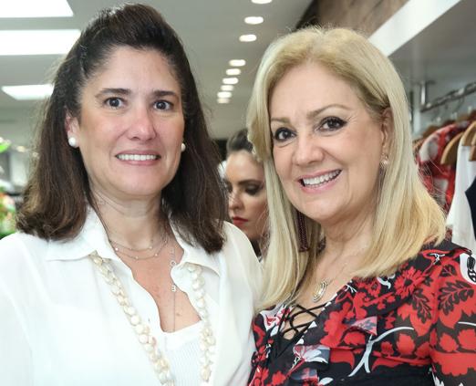 Patricia Leal e Alda Soares