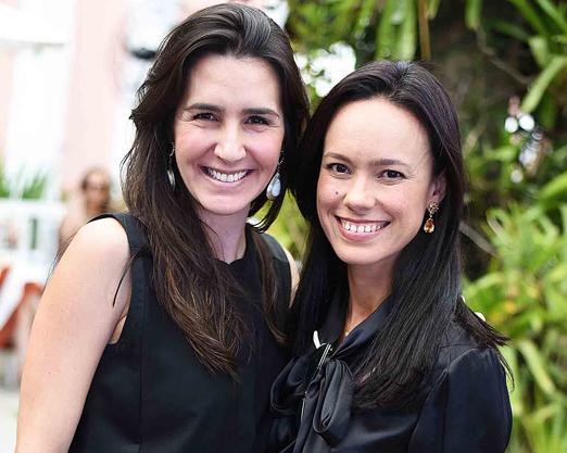 Patricia Ormiga e Ana Carolina Vilela