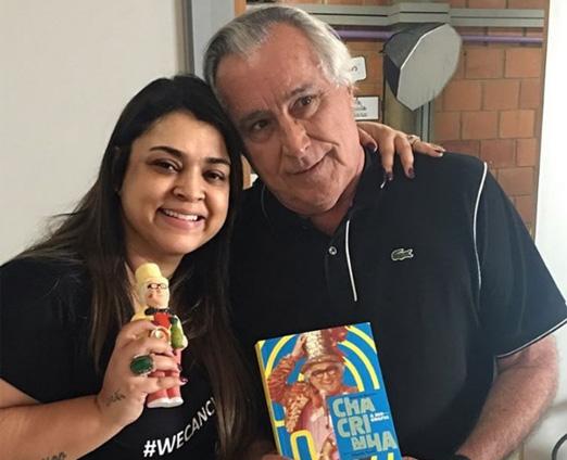 Preta Gil e Leleco Barbosa
