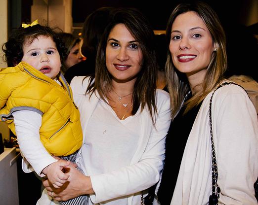 Rafaella Fachini, Pippa Fachinni e Isabela Cury