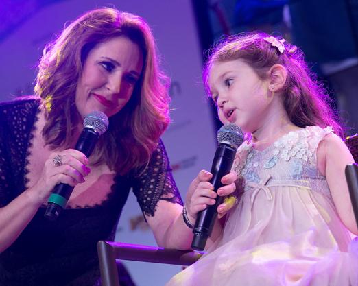 Renata Capucci e a filha Diana