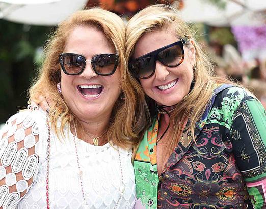 Renata Fraga e Patricia Hall