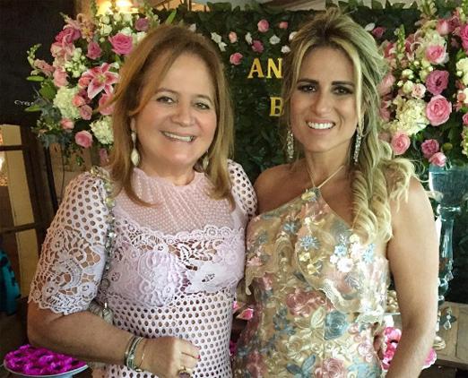 Renata Fraga e a aniversariante