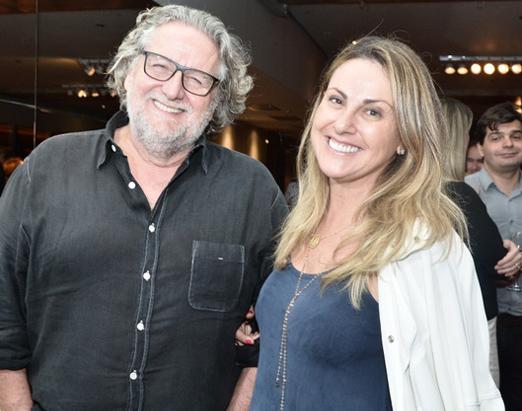 Roberto Ravioli e Giovana Dias