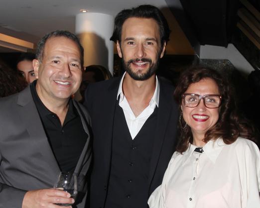 Steven Bernstein, Rodrigo Santoro e Ilda Santiago