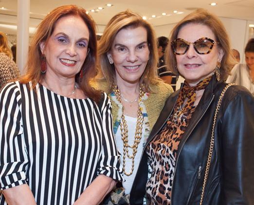 Sueli Stambowsky, Henriqueta Gomes e Marli Garcia