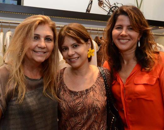 Vera Areas, Lourdes Piquet e Renata Vaz