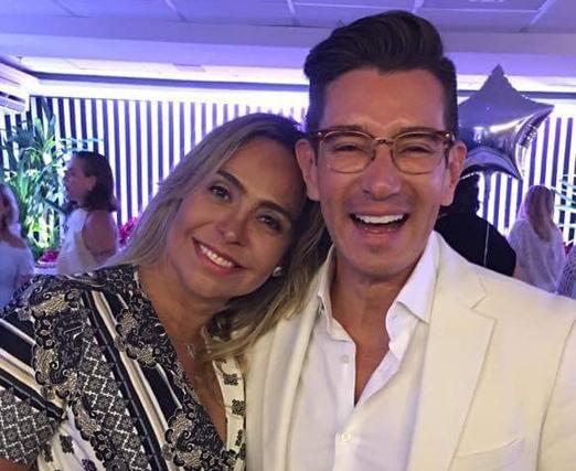 Veronica Berman e Marcelo Hicho