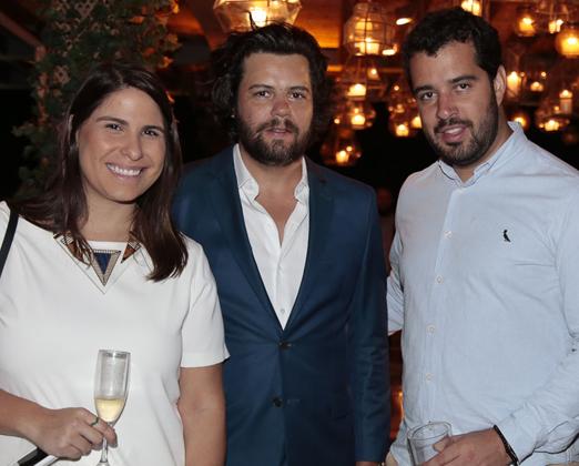 Vivian Hipólito, Tiago Pacheco e Rodrigo Carozzi
