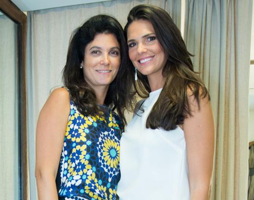 Adriana Quattrone e Daniella Sarahyba