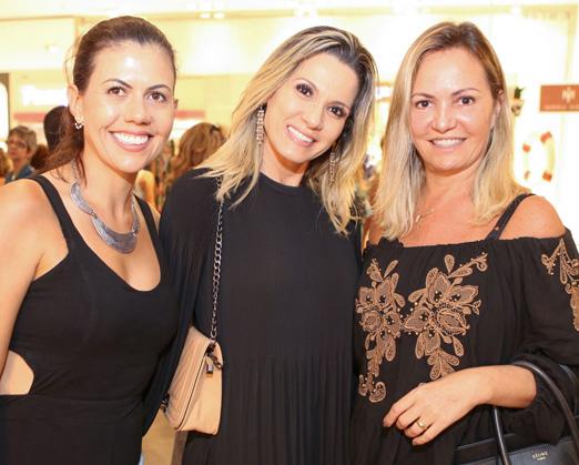 Alana Marinho, Adriana Monteiro e Hilmara Botti