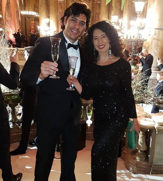 Alex Pires e Bianca Teixeira