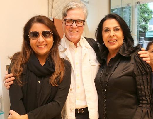Ana Claudia Vaz, Claudio Lobato e Maria Luisa de Mendonça