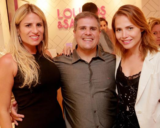 Ana Paula Barbosa, Daniel Dias e Leticia Colin