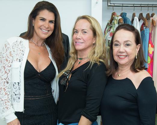 Ana Paula Padua, Ana Lucia Coutinho e Elza Milen