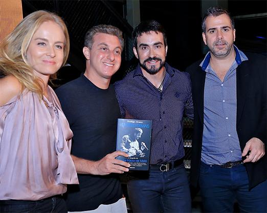 Angélica, Luciano Huck, Fábio de Melo e Rodrigo Alvares