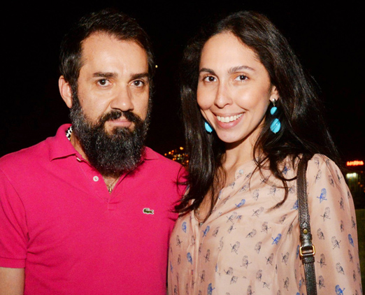 Beto Silva e Ana Luiza Soares