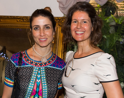 Bruna Mafra e Manuela Araújo