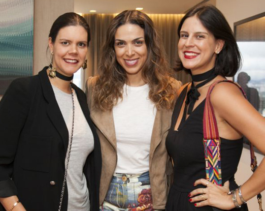 Carol Porto, Taciana Veloso e Ciccy Halpern