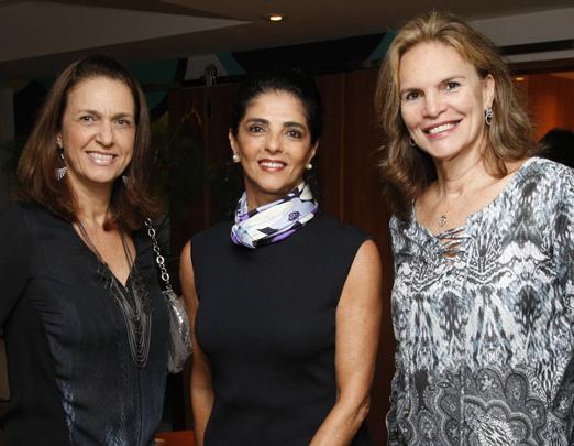 Cecilia Pina, Marina Silva e Michaela de Charbonnieres