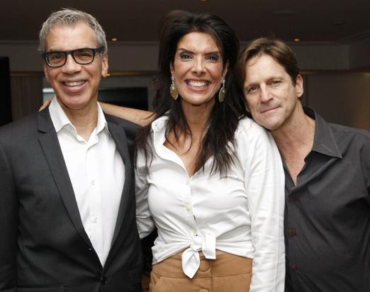 Celso Fonseca, Patricia Brandão e Ricardo Nauemberg
