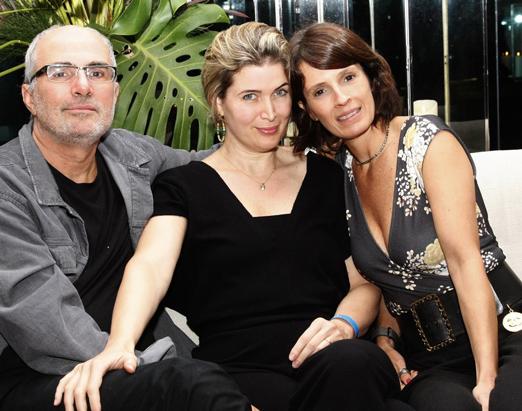 Cesário e Luiza Melo Franco com Anna Cecilia Caldas