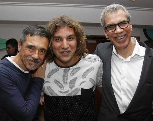 Charles Gabin, Rodrigo Sha e Celso Fonseca