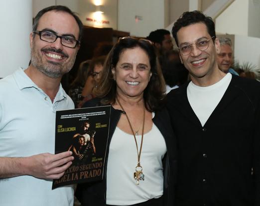 Christovam Chevalier, Leticia Muhana e Luiz Menna Barreto
