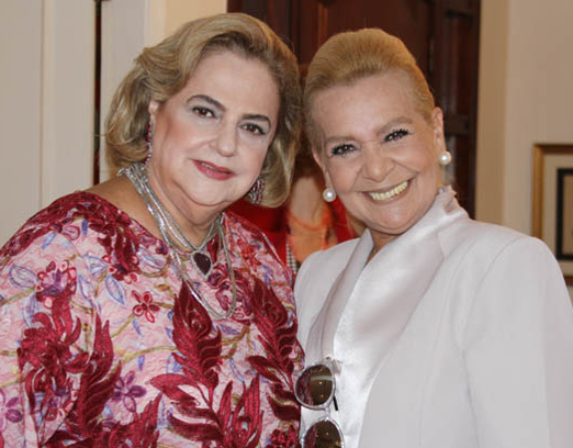 Cristina Aboim e Vera Bangel