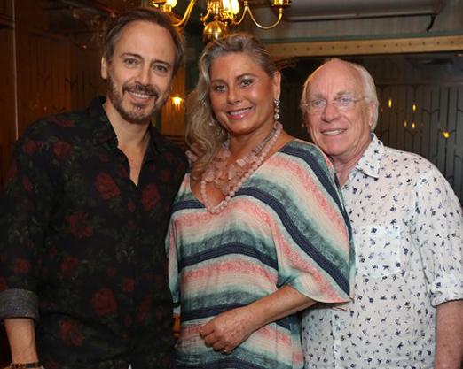 Edson Fieschi, Vera Fischer e Ary Coslov