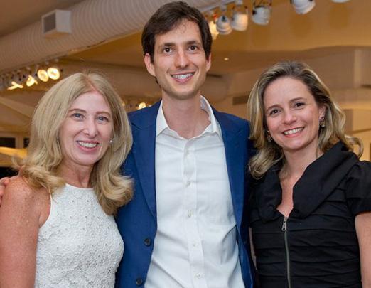 Emmy Man, Rafael Sauer e Renata Wegmann