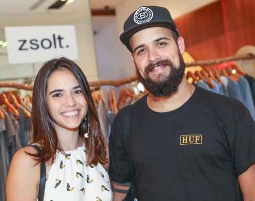 Fernanda Prestes e Victor Roncca