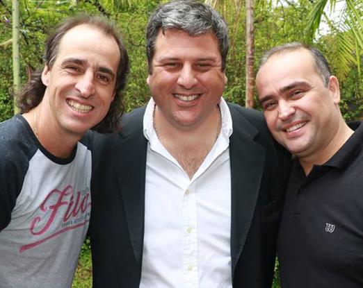 Fernando Meligeni, Andres Alzugaray e Igor Franulovic