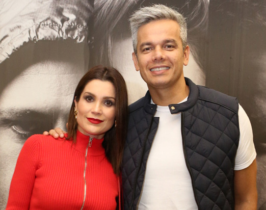 Flavia Alessandra e Otaviano Costa